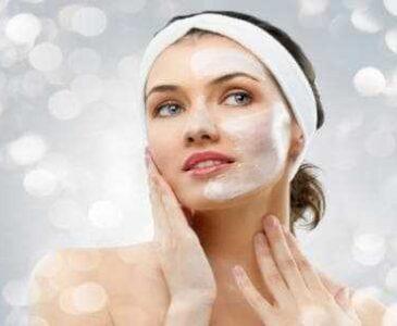 Facial peeling in Higina Spa