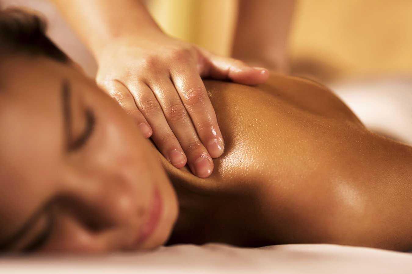 Классический массаж в Хижина СПА